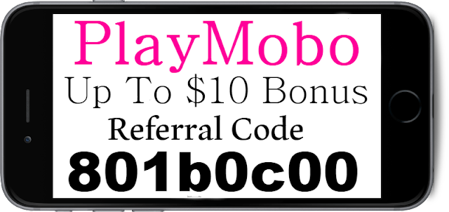 Playmobo Referral Code, Invite Code and Sign up Bonus 2018-2019