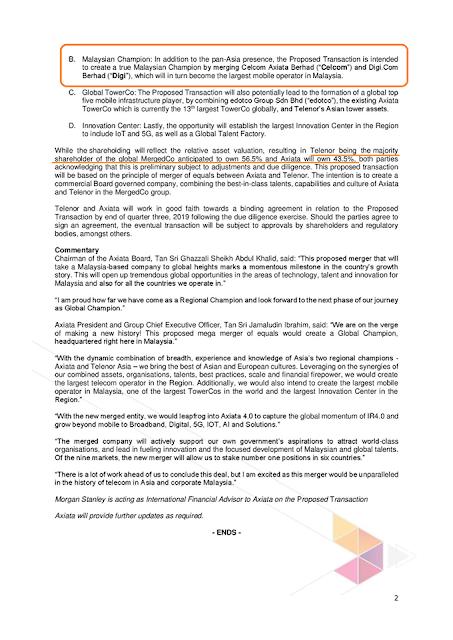 celcom bukan lagi syarikat Malaysia