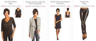 ejemplos ropa five swarovski