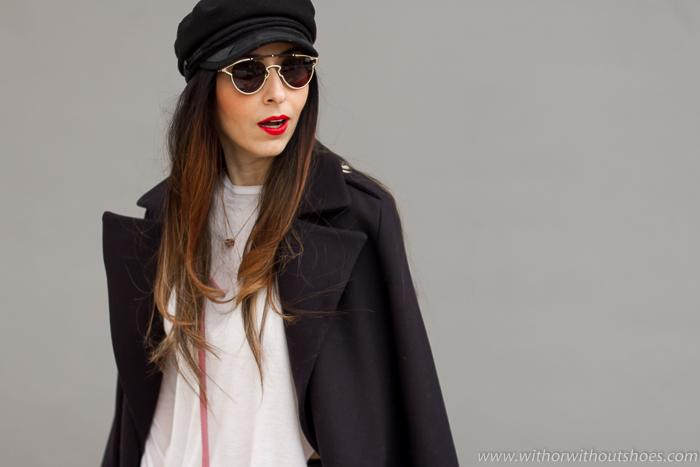 BLogger influencer moda lifestyle con ideas para vestir en invierno frio looks basicos sencillos comodos