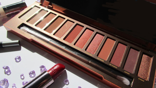 Naked Heat Palette de Urban Decay...y Descuento 20% Friends&Fanatics 2017!!!.