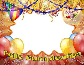 Marco para fotos de cumpleaños gratis 1