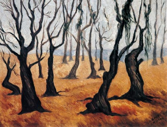 Dario Suro. Landscape. 1941