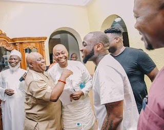 Victory At StepDoor! As Davido Releases Gospel Song To Celebrate Uncle's Victory At Tribunal (Listen Now)