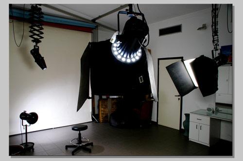 Family Portrait Studio Light Setup