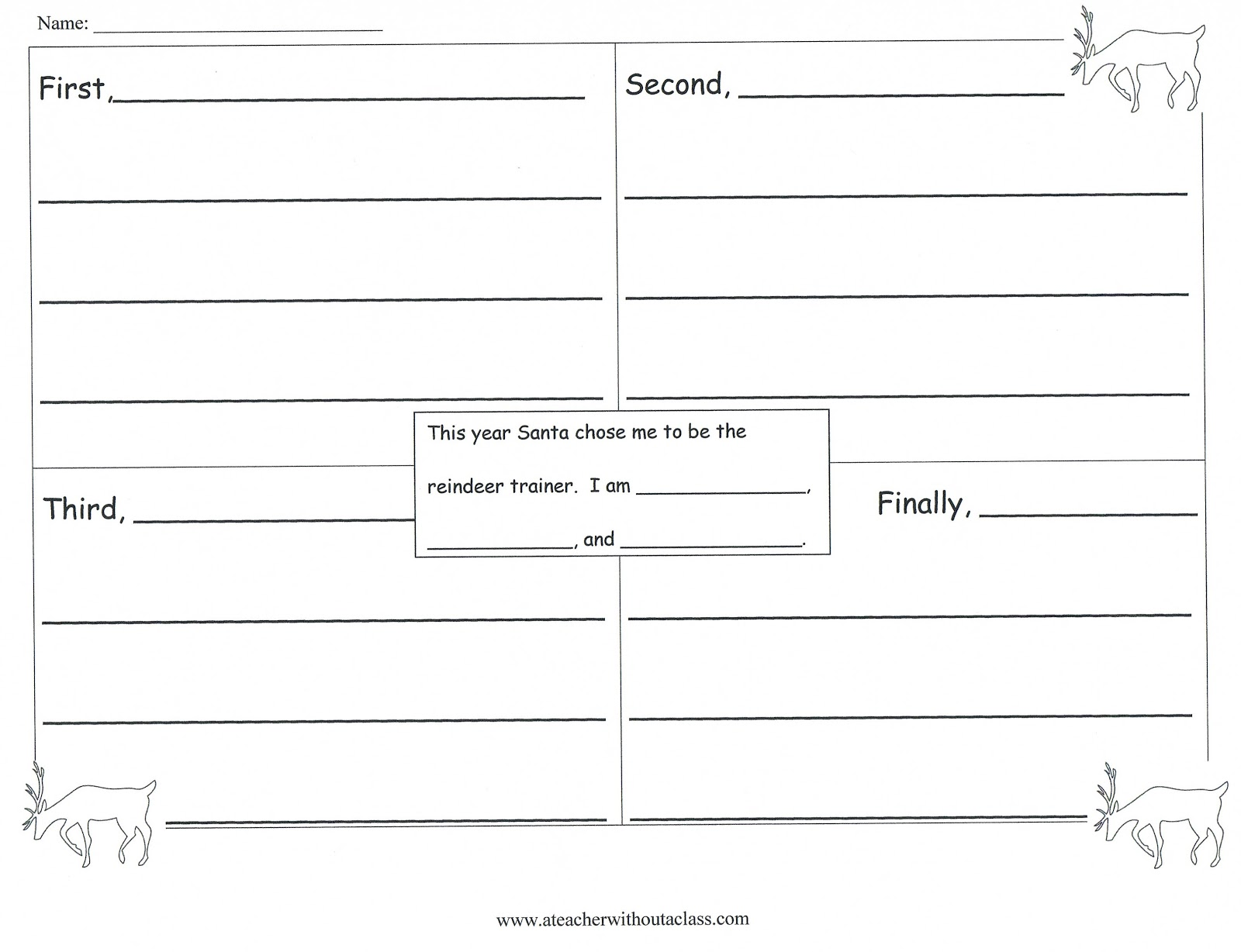Story Writing Prompts Worksheet