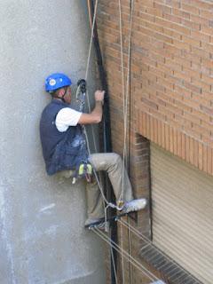 fotos de trabajos en altura madrid