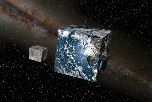 ماذا كان ليحصل لو كانت الأرض مكعبة الشكل؟