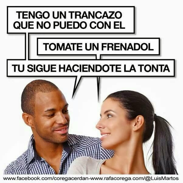 Viñeta humor Trancazo y Frenadol