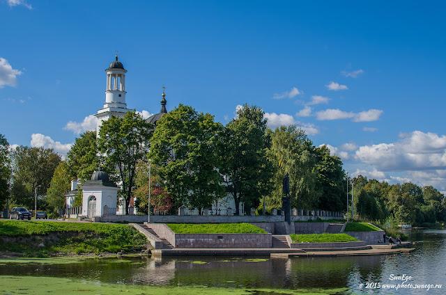 Усть-Ижора. Место Невской битвы.