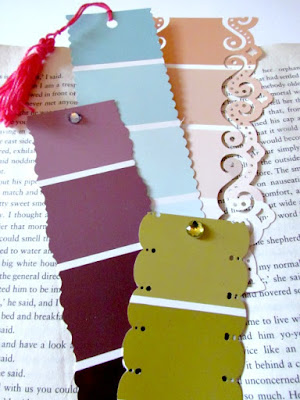 Bookmark, Paint Strip Bookmark