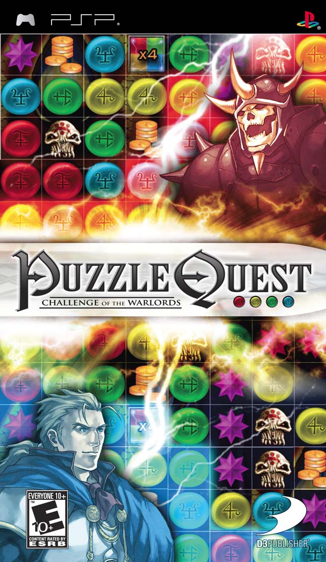 Puzzle Quest - Challenge Of The Warlords - PSP - ISO Download
