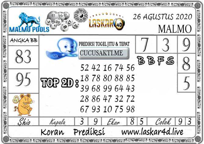 Prediksi Togel MALMO LASKAR4D 26 AGUSTUS 2020