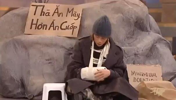 Hoài Linh--Thà ăn mày còn hơn ăn cướp
