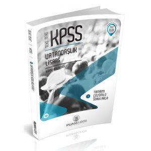 Puan Akademi KPSS Text Text Vatandaşlık Konu Anlatımlı 2017
