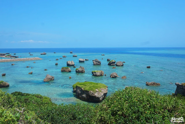 東平安名崎からの風景、宮古島