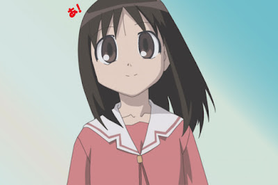 Ayumu Kasuga makes her sparkling entrance in the anime adaptation of Azumanaga Daioh in episode one, the last section titled The Girl from Osaka.