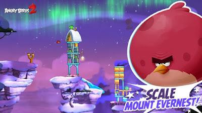 لعبة Angry Birds Blast مهكرة للاندرويد