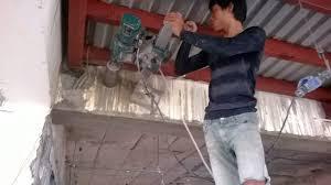Khoan cắt bê tông tại thị xã Bến Cát