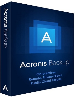 Acronis Backup Bootable ISO 12.5.7048 poster box cover