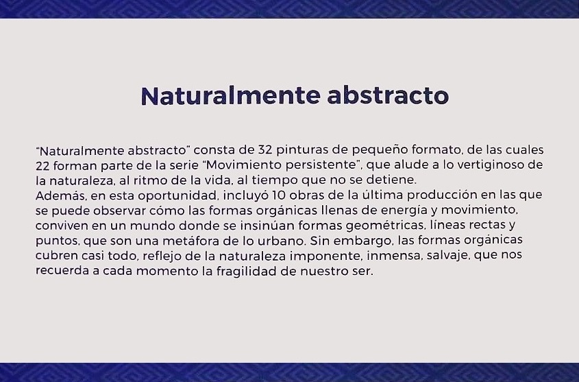 NATURALMENTE ABSTRACTO