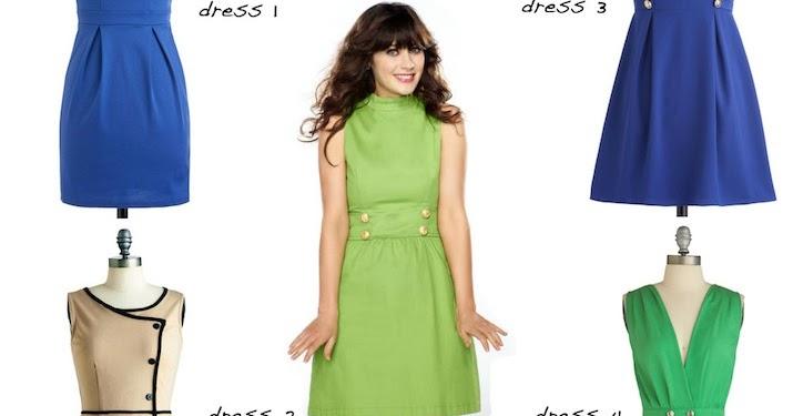 f66d655a0f La Petite Mademoiselle  dress like jess - aka zooey deschanel.