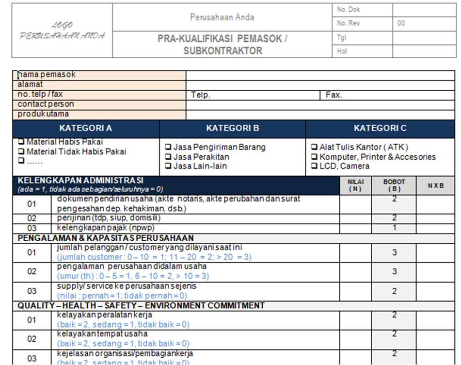 Contoh Laporan Quality Control Laboratorium Surat Rasmi Ra
