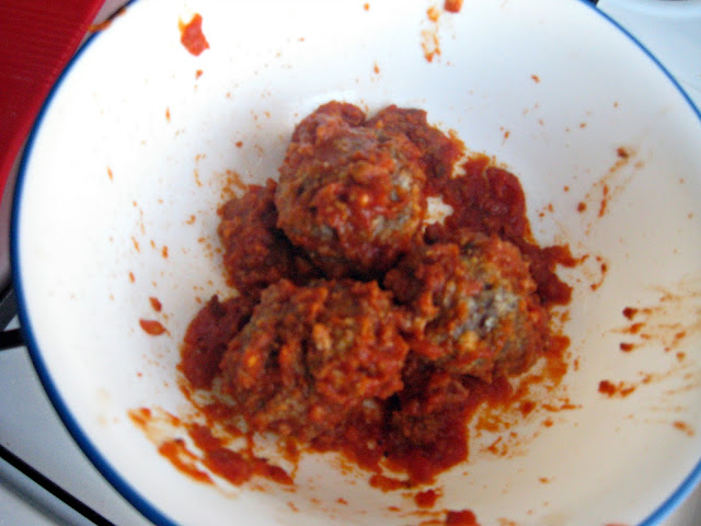 Mini, Baked, Meatballs