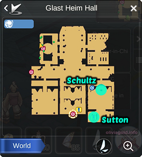 Ragnarok Mobile Schultz Location