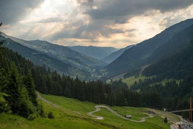 Sonnenaufgangswanderung Spieleckkogel  Wandern in Saalbach 15