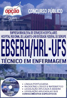 Apostila concurso EBSERH Hospital Lagarto UFS Técnico de Enfermagem (HRL-SE)