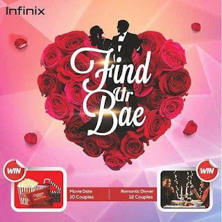 #FindurBae: Infinix Valentine Splash Promo - See How To Participate