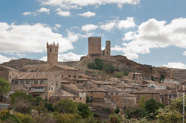 Uncastillo pueblo bonito Zaragoza Cinco Villas