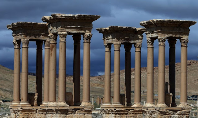 ISIS destroys part of Palmyra's Roman Theatre