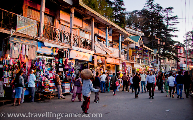 One of the joys of the Mall Road is the sheer number of shops and the variety of goods available here. You can buy Pashmina Shawls, Sweaters, Scarfs, Gloves, and also the unique Himachali Topi. You can also purchase wooden curios, trinkets, and other mementos. While you are shopping, also remember that you will hardly ever find anything that you cannot find almost in all other hill stations, however, the experience is good here because of the lack of traffic. You can also bargain and get a good price.     Related Post - How to reach Shimla and main places to visit around summer capital of India