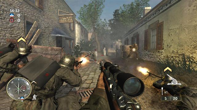 Download Call of Duty 3 PC Games Gameplay