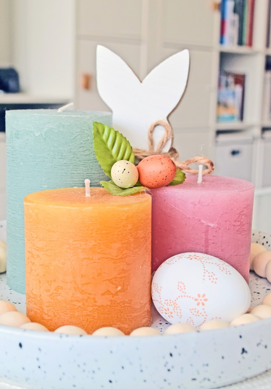 Pastelowe dekoracje na Wielkanoc