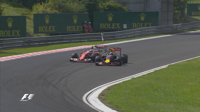 Kimi Ferrari verstappen Red bull hungaria F1
