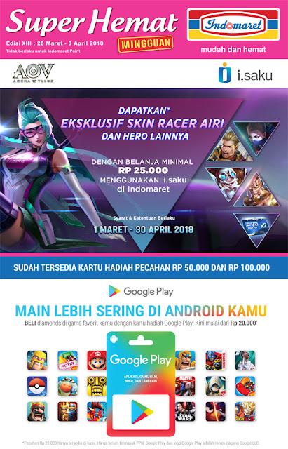 Katalog Harga Promo INDOMARET Super Hemat 28 Maret - 03 April 2018