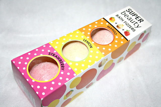 Super Beauty Bath Fizzers