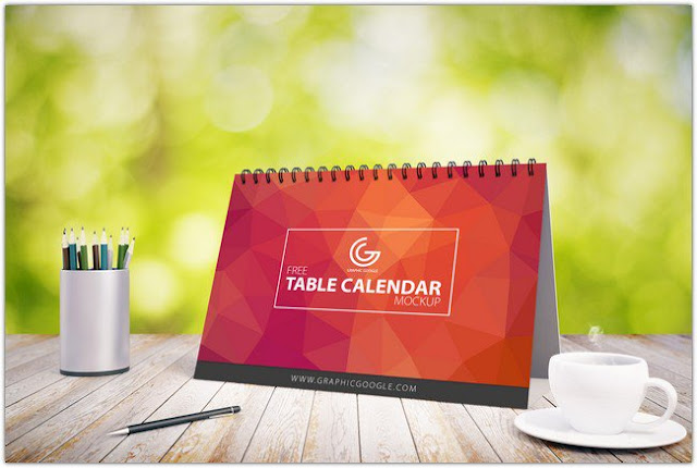 yap yang satu ini yaitu desain musiman tepatnya menjelang tahun gres 29 Mock Up Kalender Free! | Simple, Elegant, Cool