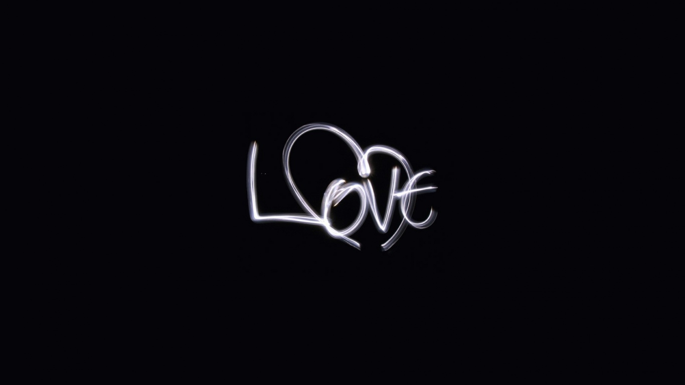 Wallpaper Love Quotes Black Background