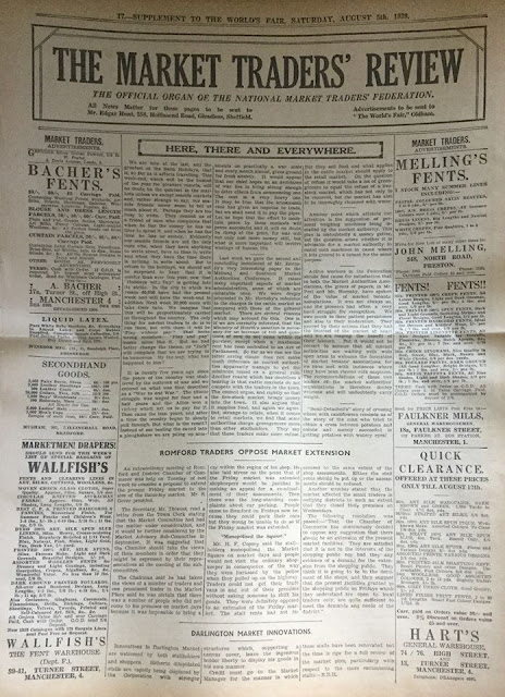 The Market Traders' Review - 5 August 1939
