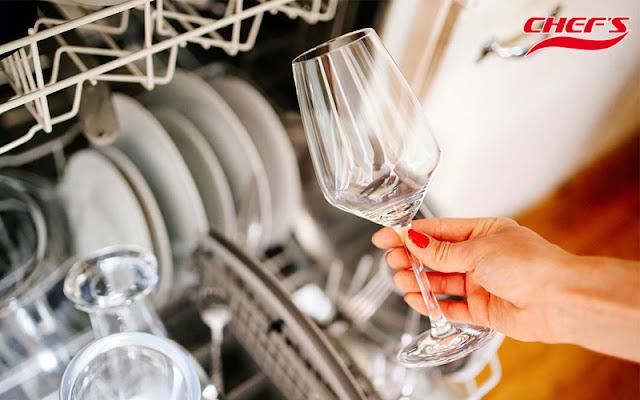 Máy rửa bát Chefs có sấy khô bát đĩa không?