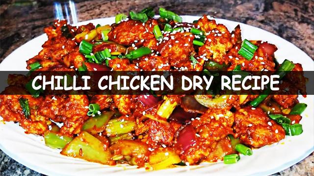 Chilli chicken dry | Easy chilli chicken | how to make chilli chicken