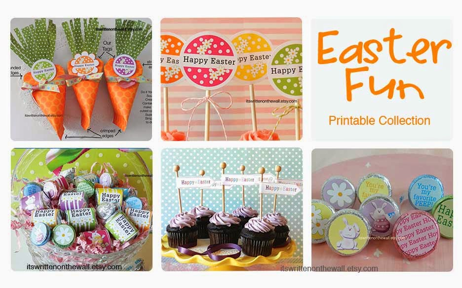 Its Written On The Wall Our Easter Fun Printable
