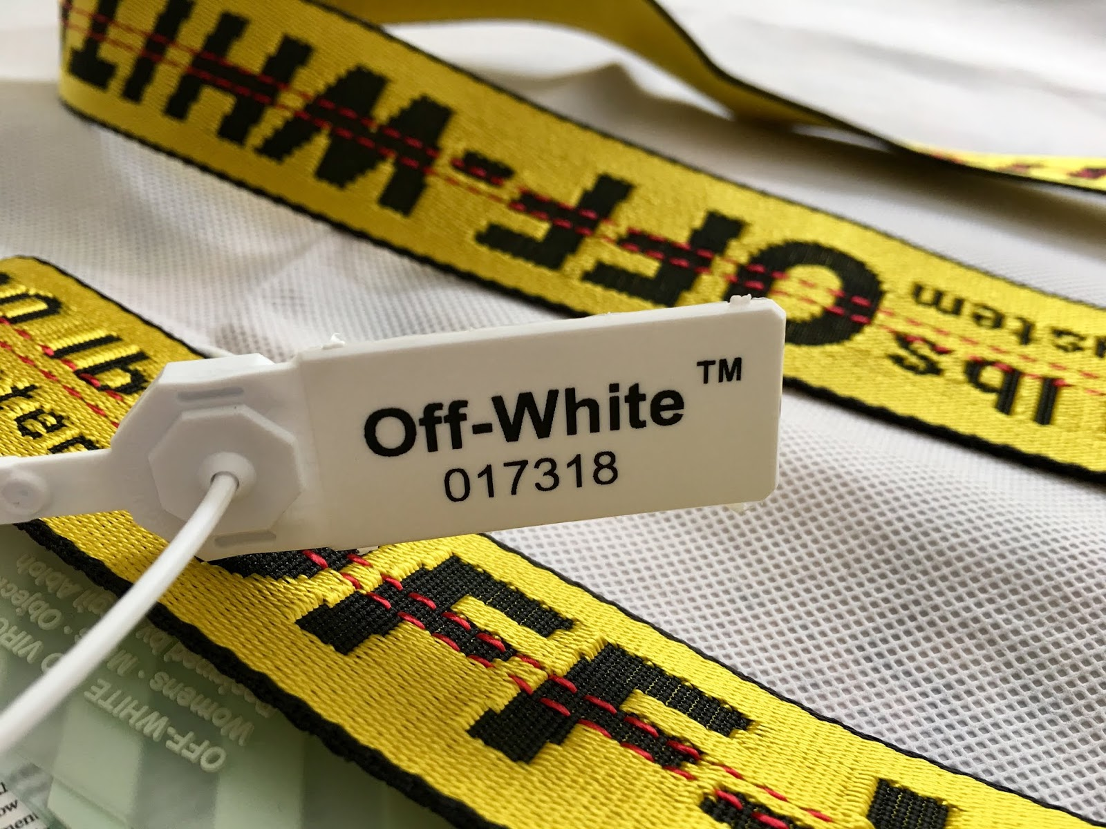 Biggest Streetwear Skateboarding And Fashion Clothing Brands Photo And Video Reviews Blog Off White Classic Industrial Yellow Belt Review
