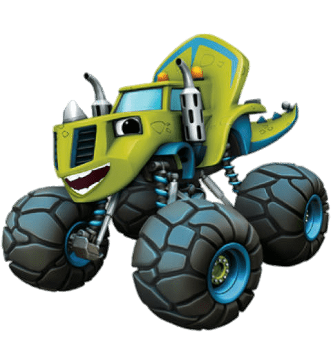 Cartoon Characters: Blaze And The Monster Machines (PNG