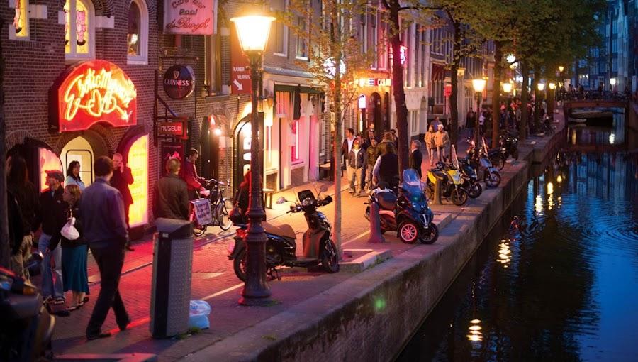 El Barrio Rojo de Ámsterdam, Holanda, viajes y turismo