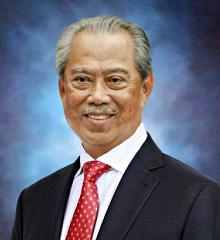 Perdana Kelapan ketujuh Tan Sri Muhyiddin Yassin